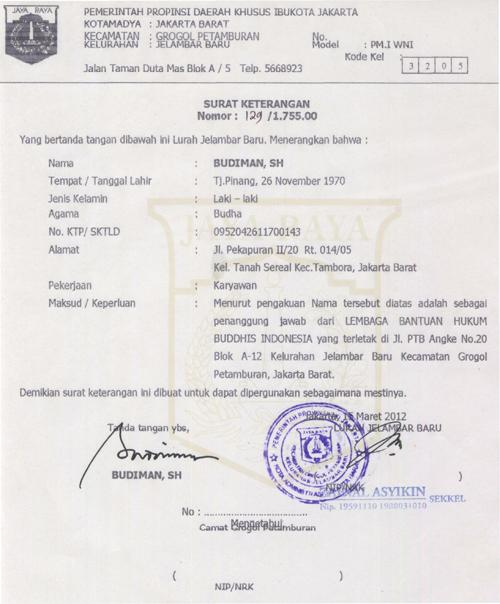 Posted in Dokumen Pendirian LBH Buddhis Indonesia